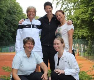 So sehen Sieger aus: Unsere Damen 30 sicherten sich den Landesmeistertitel.