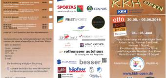 ITF Seniorenturnier startet am 30. Mai