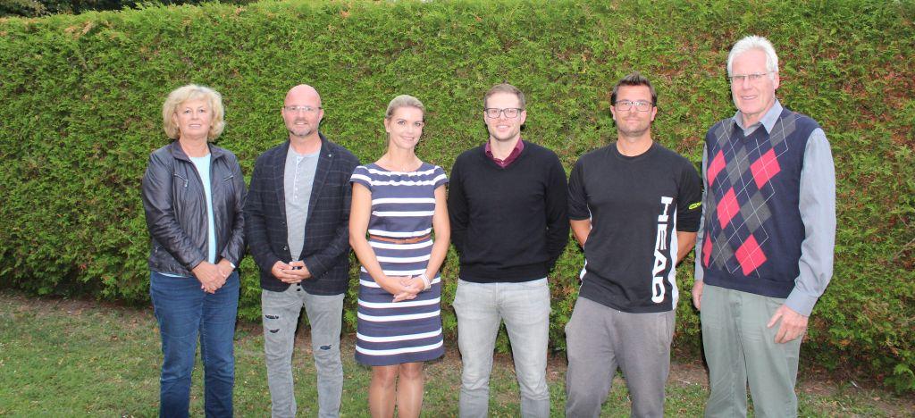 Die neu gewählten Vorstandsmitglieder des 1. TC Magdeburg.