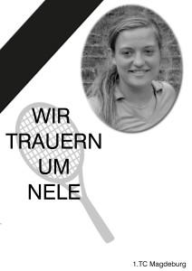 Trauer um Nele Wehner