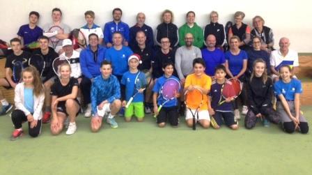 Tennisturnier des 1. TC Magdeburg Weihnachten 2017
