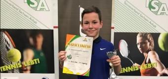 Emilio Bode ist Hallen-Landesmeister 2018