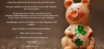 Neujahrs-Schleifchenturnier