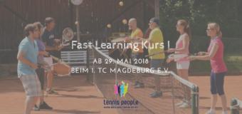 Der perfekte Einstieg für Erwachsene – Fast Learning Kurs beim 1. TC Magdeburg