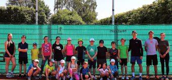 Tenniscamp in den Pfingstferien sorgt für Spaß und Begeisterung auf der Anlage des 1. TCM