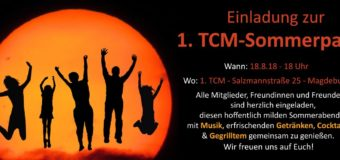 1. Sommerparty am 18. August beim 1. TCM