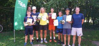 Zwei Titel für den 1. TCM als Ausrichter der Jugendlandesmeisterschaften