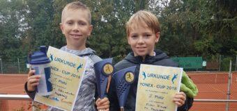 Junior-Team des 1. TCM mit erfolgreichem Turnierwochenende